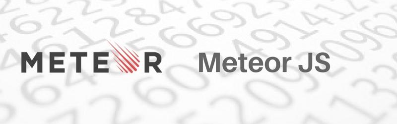 MeteorJS javascript frameworks